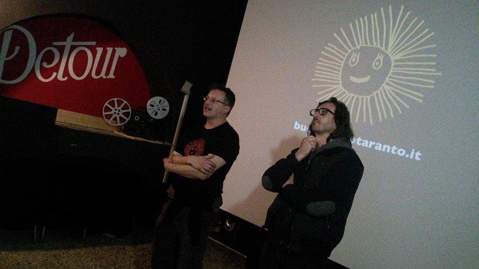 Directors Daniele Vicari and Paolo Pisanelli