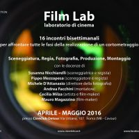 FILM LAB | aprile - maggio '16 | giovedì 24 marzo presentazione
